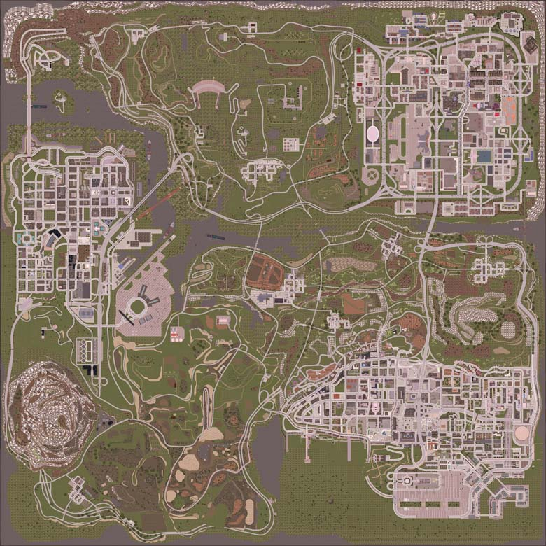new map top gta version 1.6